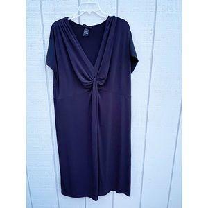 LANE BRYANT Sleeveless Black Dress